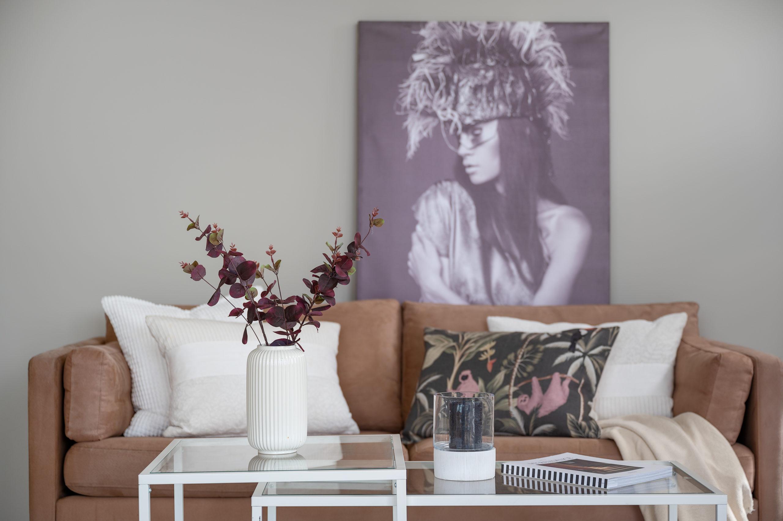 Enebolig Fjellfoten Hage: Moderne interiørdetaljer